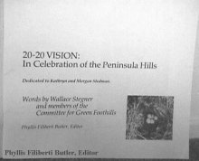 20-20 Vision. Edited by Phyllis Butler